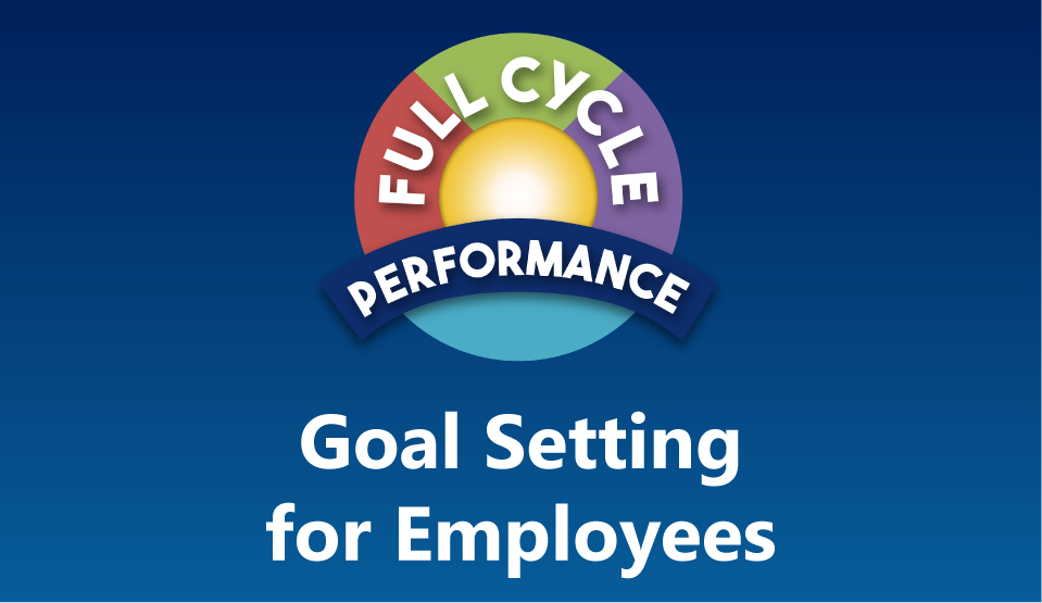 Goal-Setting Workshop for Employees