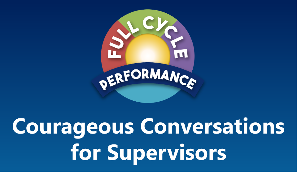 Courageous Conversations Workshop for Supervisors