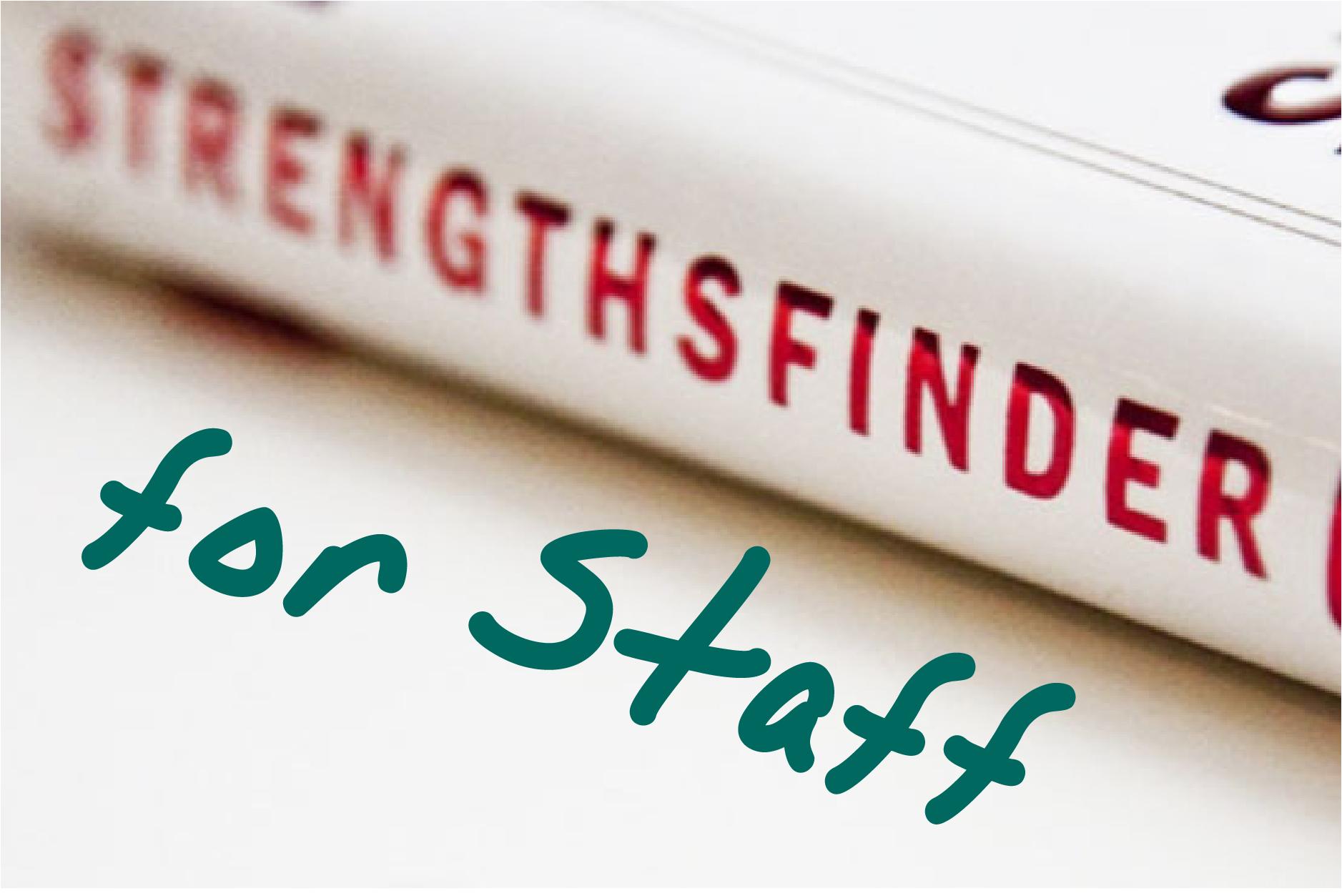 StrengthsFinder for Staff