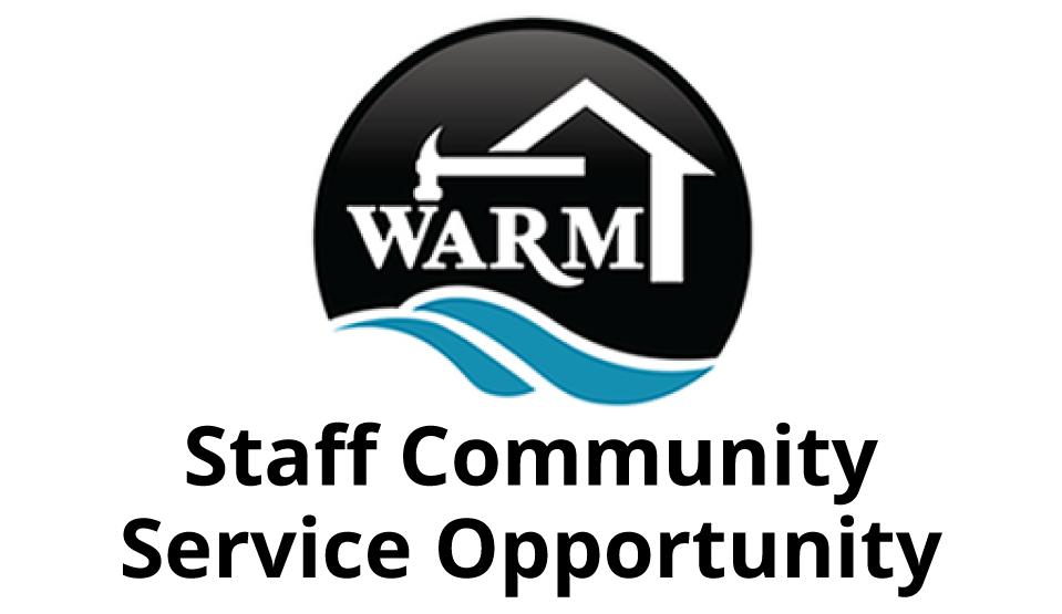 Staff Community Service: WARM