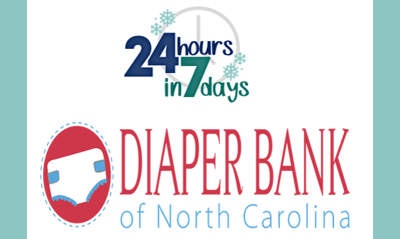 Staff Community Service: Diaper Bank of NC