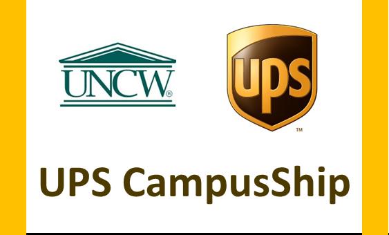 UPS Campus Ship