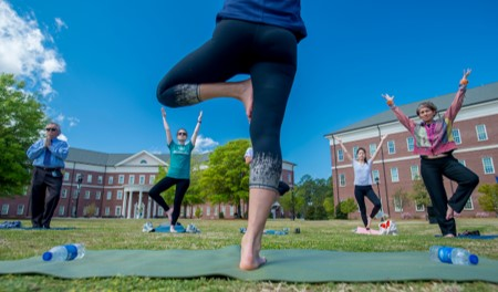 It's a Nice Day for Yoga