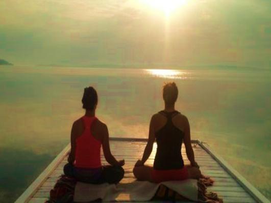 Yoga Down South at CMS