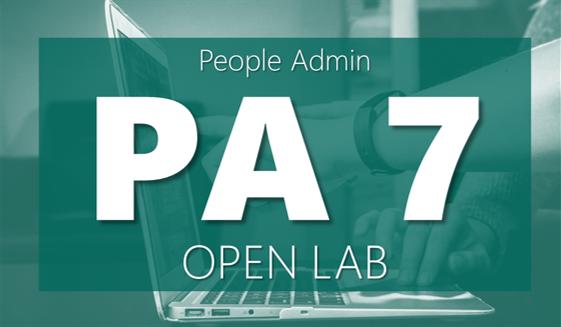 PeopleAdmin Open Lab